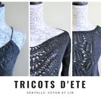 Coton et Lin : Tricoter pour l'été